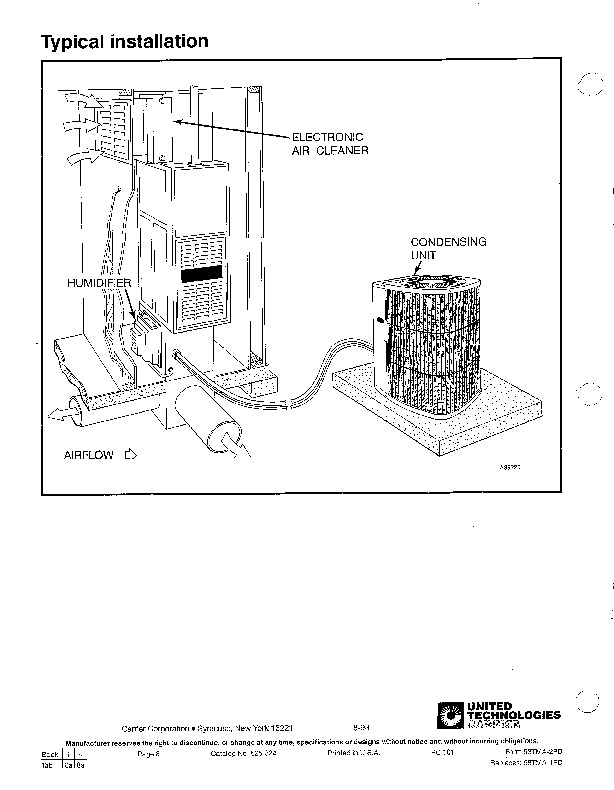 Carrier 58TMA 2PD Gas Furnace Owners Manual