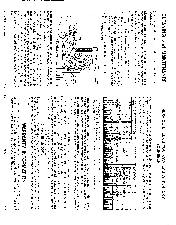 Carrier 51 4 Heat Air Conditioner Manual