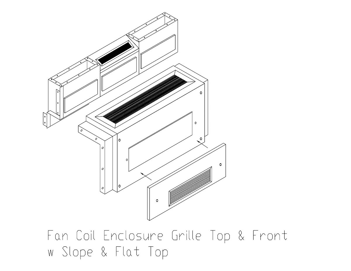 Fan Coil & PTAC Custom Enclosures