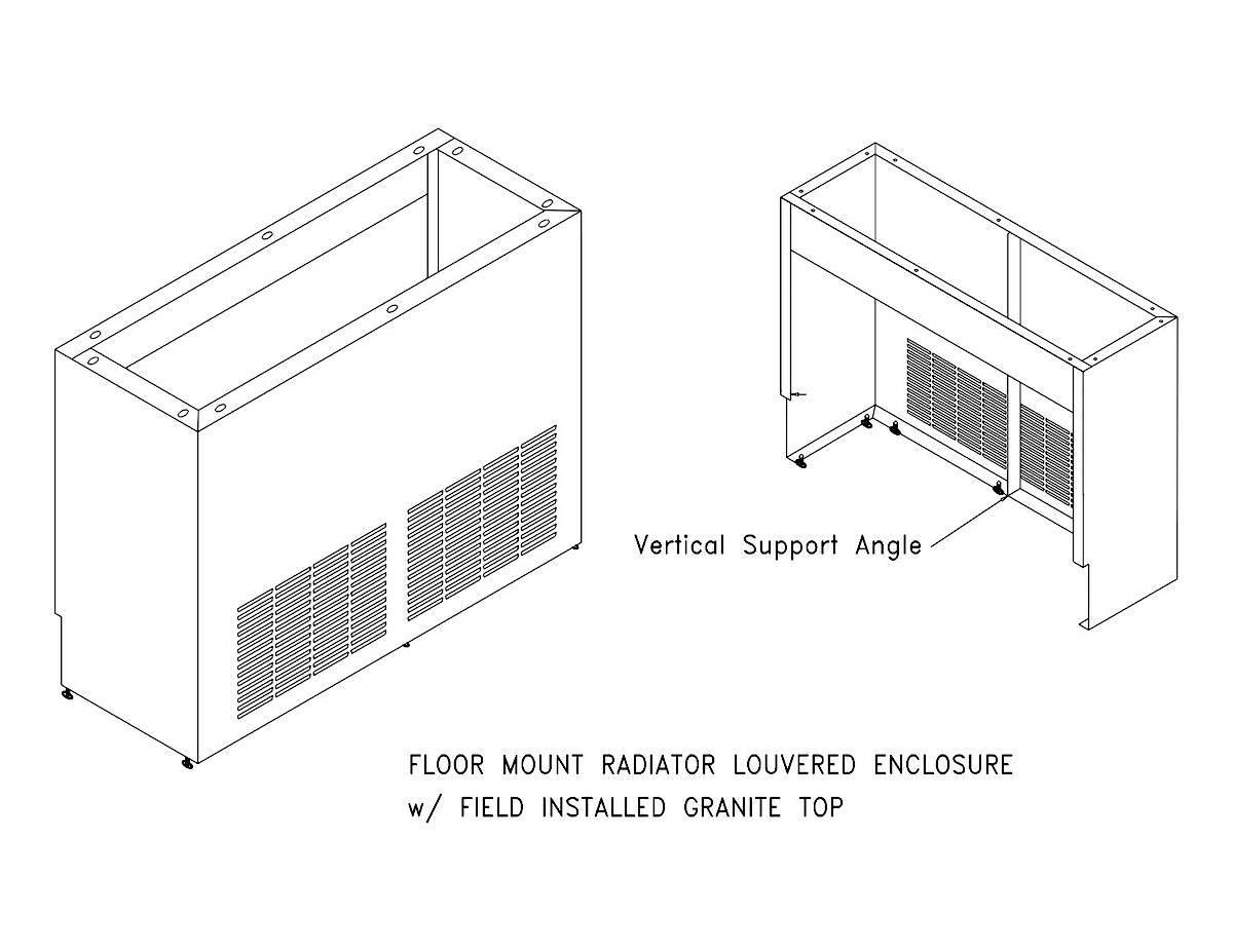 Convector Amp Radiator Custom Enclosures