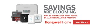 Honeywell 5X Points Header