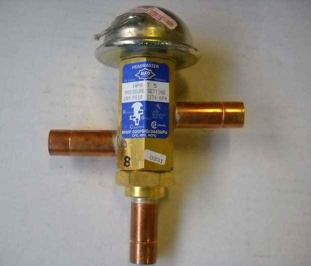 Low Ambient, Condenser Flooding and Headmaster Valves
