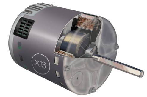The difference between variable speed and x13 motors for Variable speed motor furnace