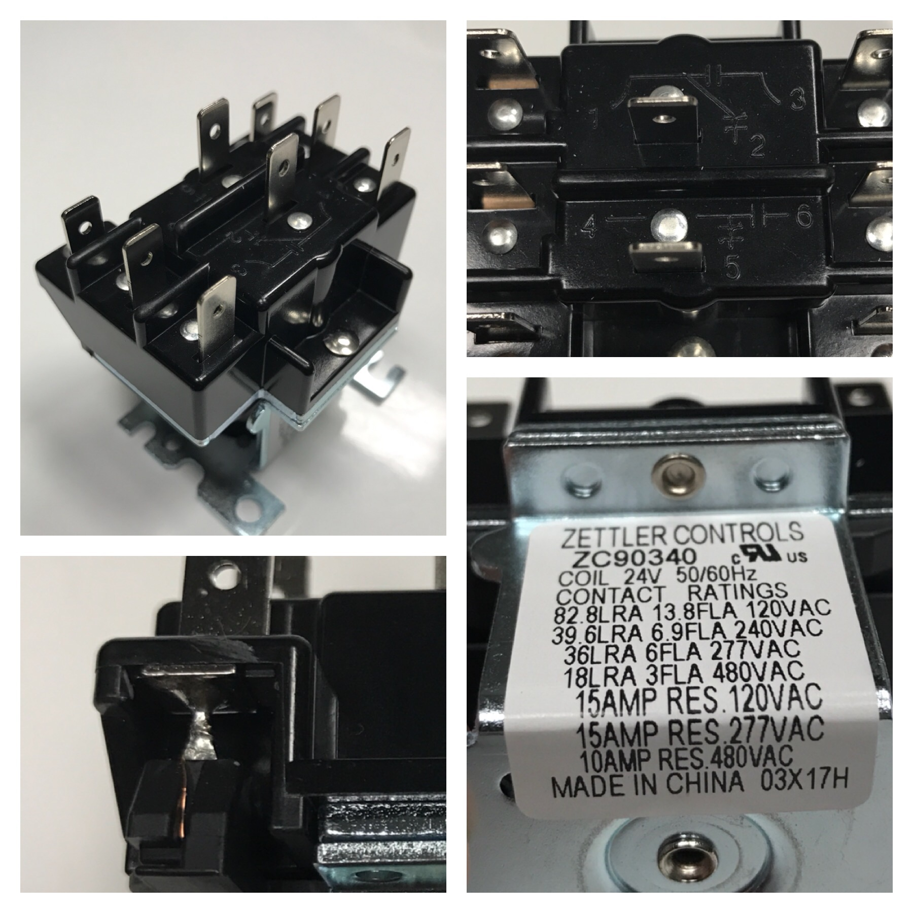 understanding relays with the 90 340 hvac school rh hvacrschool com 4 Wire Relay Wiring Diagram 5 Pin Relay Wiring Diagram