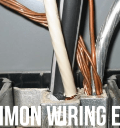 connecting more than one wire on or under a single lug or connection point is called double lugging and it is only allowed in line voltage wiring under  [ 2048 x 1168 Pixel ]