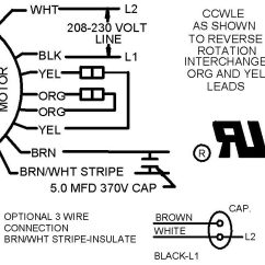 Ac Fan Motor Wiring Diagram 2003 Honda Civic Alarm 3 Wire And 4 Condensing Connection Hvac School Tech Tips