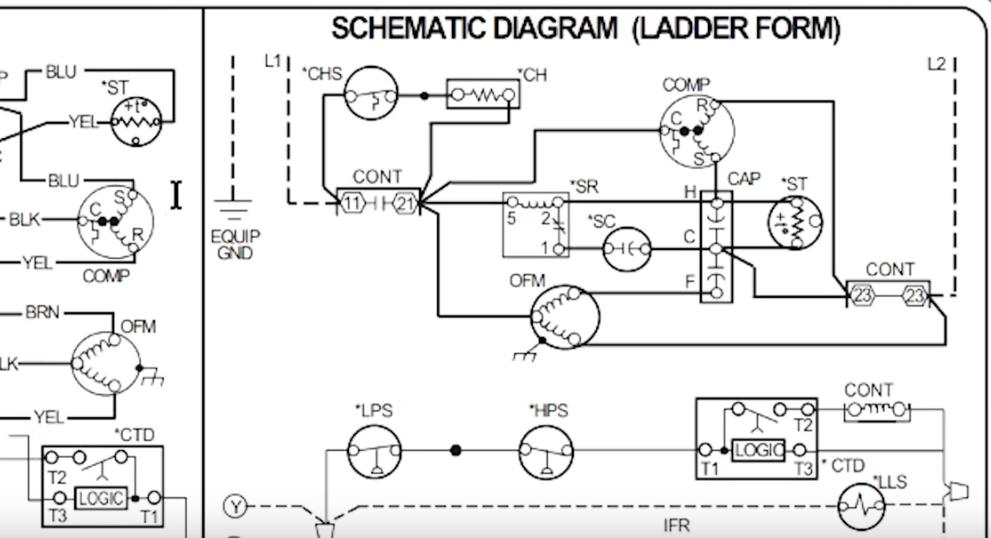 How To Read Ac Schematics And Diagrams Basics Hvac Schoolrhhvacrschool: Basic Refrigeration Electrical Schematic At Gmaili.net