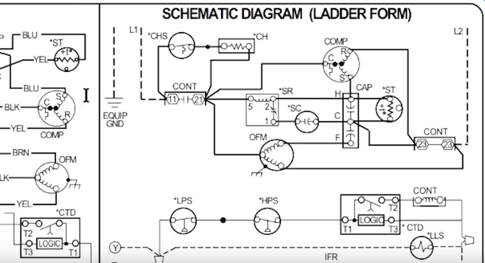 Ladder Diagram For Ac - talk about wiring diagram on