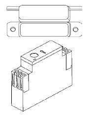 Berner Air Curtain DOOR SWITCHES & Controls
