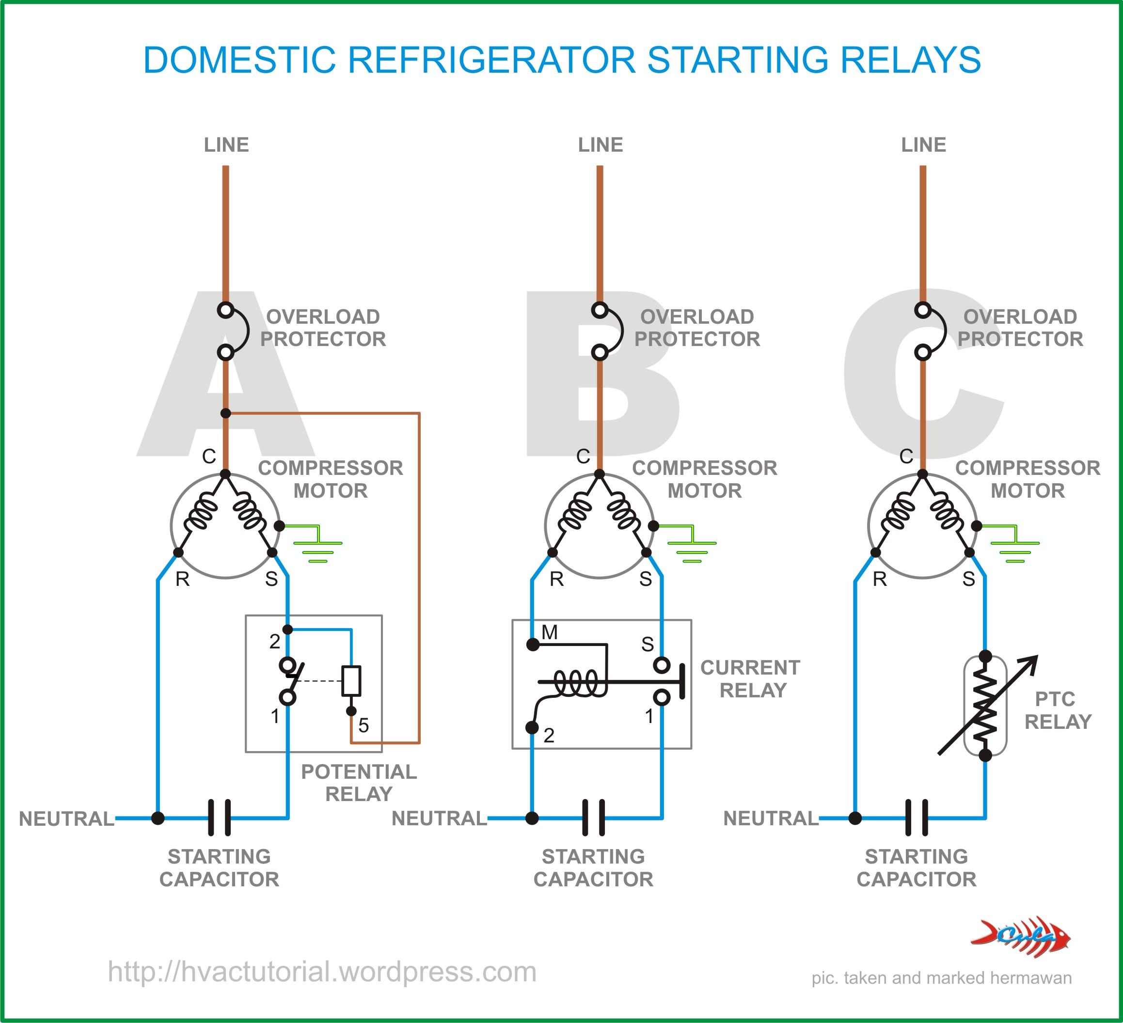 small resolution of refrigerator circuit diagram