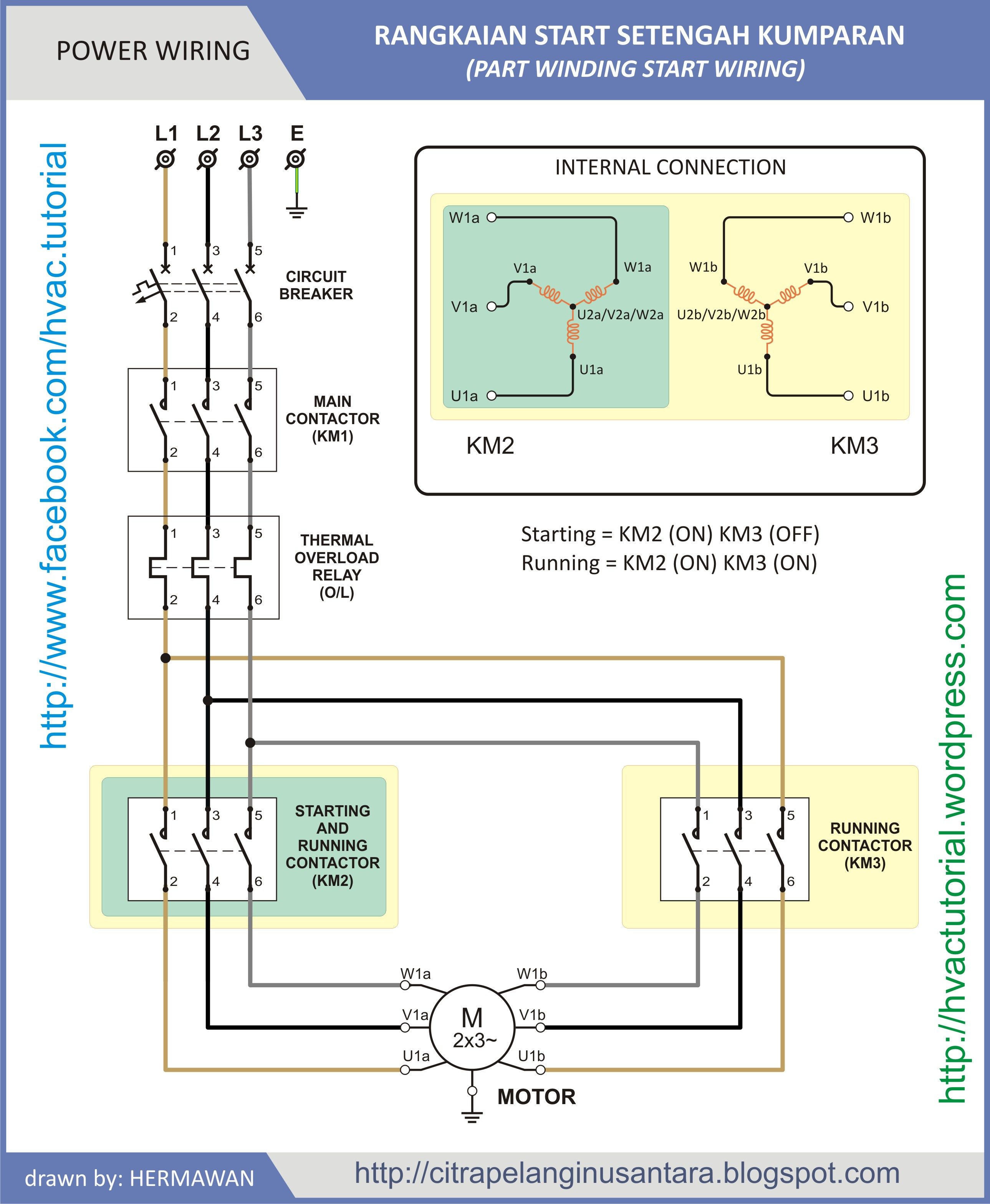 carrier split ac wiring diagram dna fingerprinting part winding start | hermawan's blog (refrigeration and air conditioning systems)