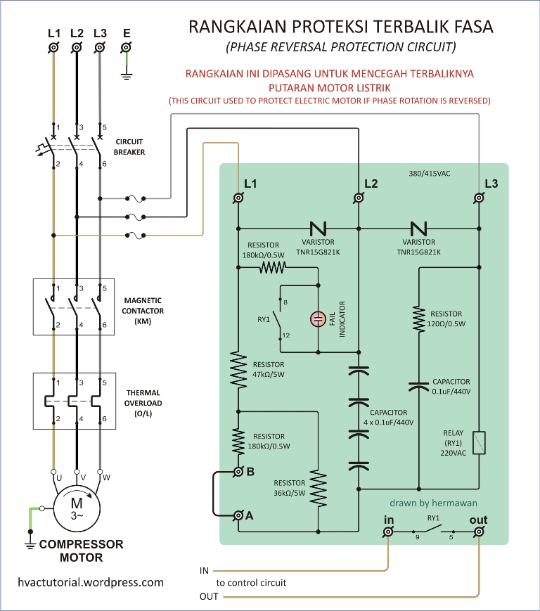 General Electric Refrigerator Wiring Diagrams Phase Reversal Protection Relay Hermawan S Blog
