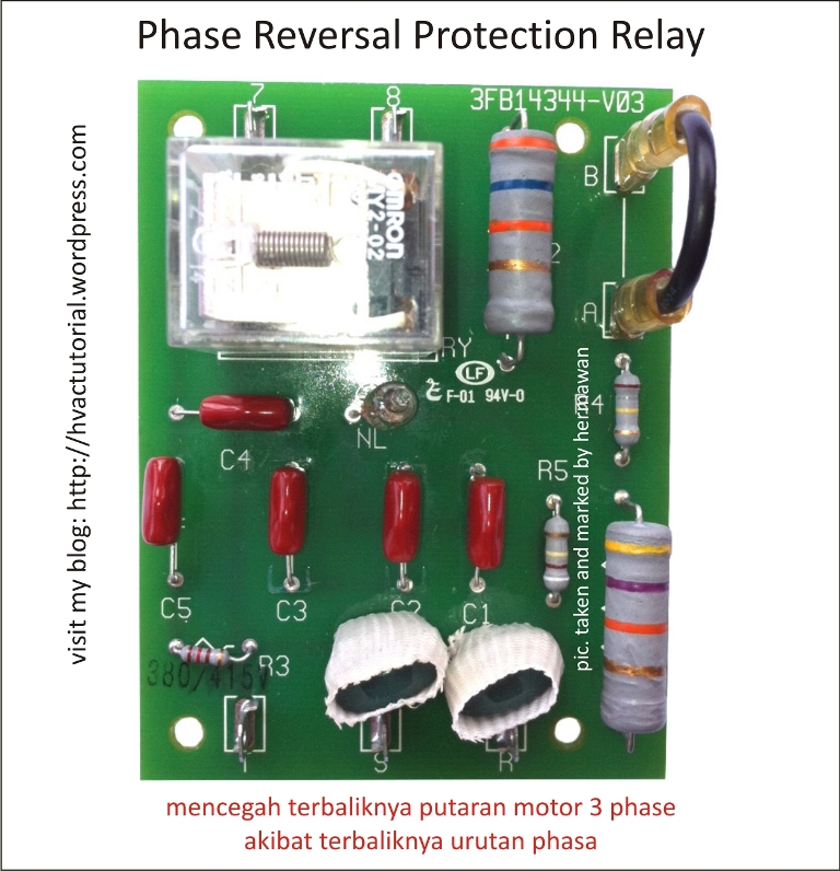 3 Phase Air Compressor Pressure Switch Wiring Diagram Phase Reversal Protection Relay Hermawan S Blog