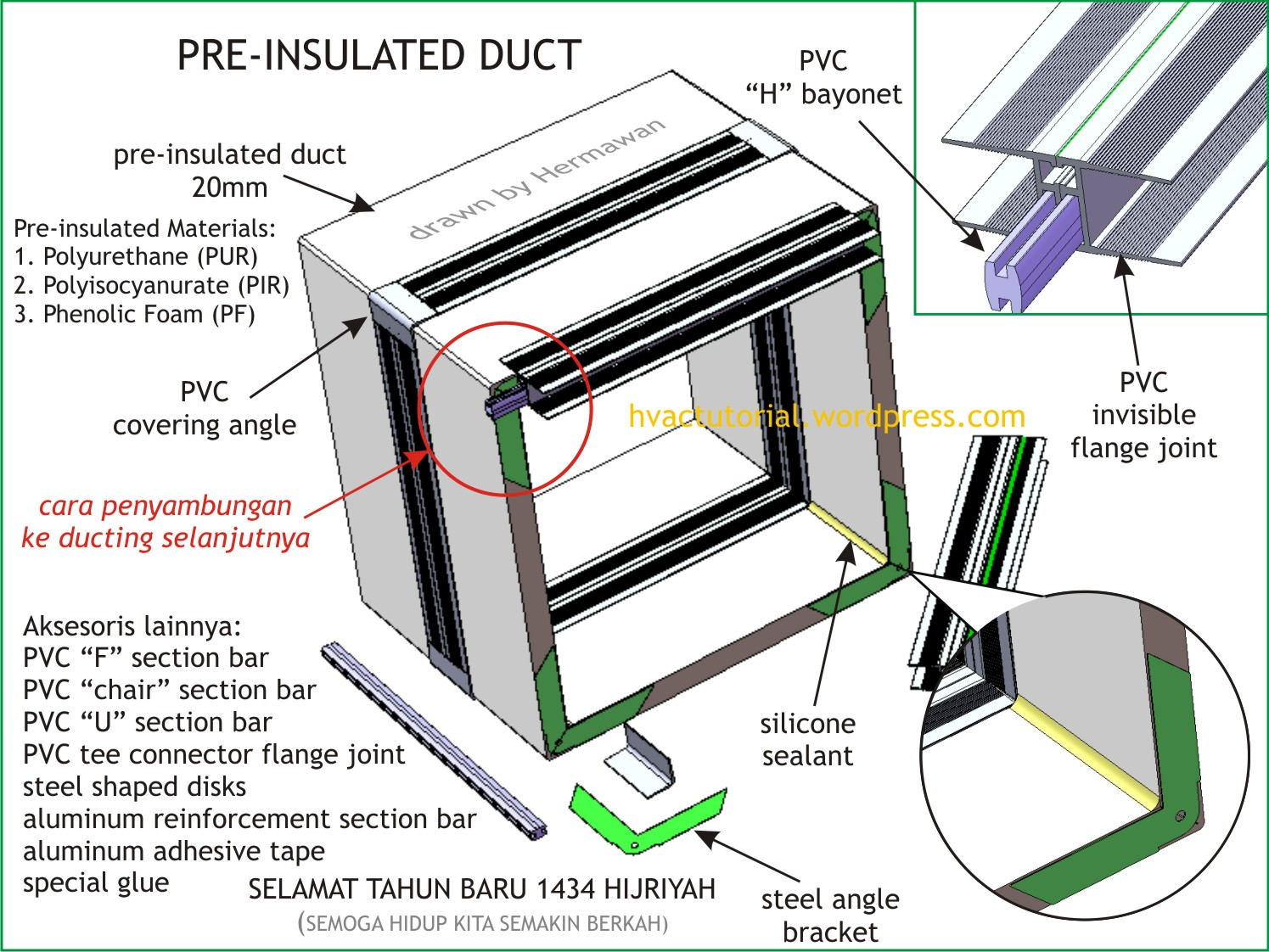 hight resolution of hvac supply duct images