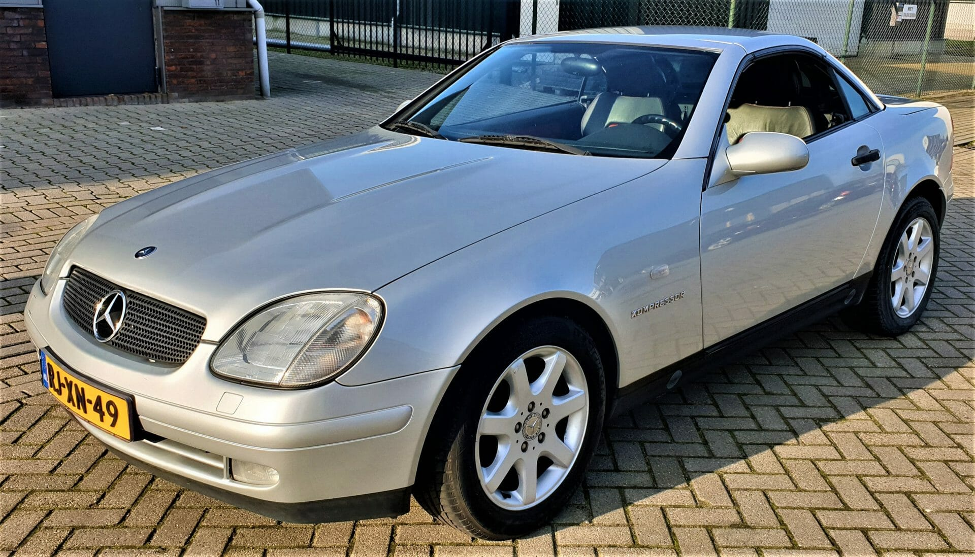Mercedes SLK 230 Kompressor 1997 161896 KM NAP