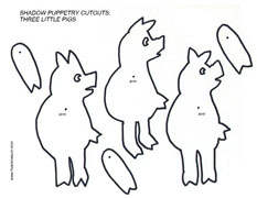Cutouts: Wolf stories