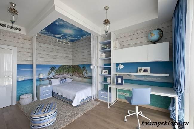 Комната-в-морском-стиле-4