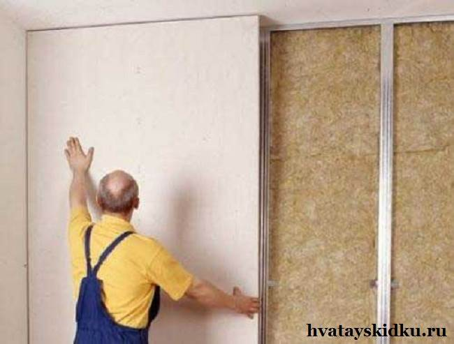 Как-клеить-гипсокартон-на-стены-1