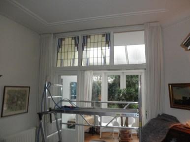 Plaatsing tweede nieuwe raam