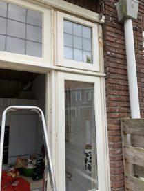 Eindresultaat nieuw raam