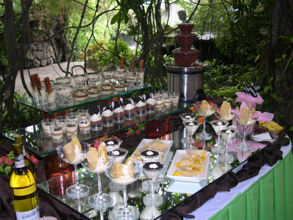 Wedding Dessert Buffet  Hudson Valley Ceremonies
