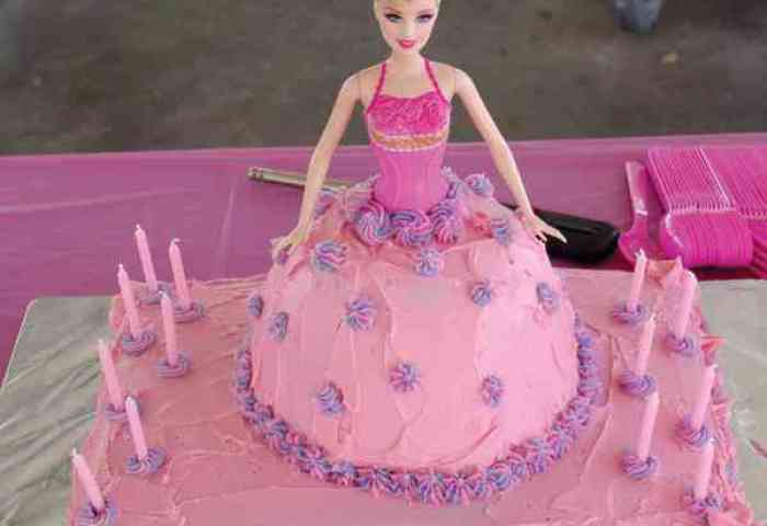 Barbie Doll Cake Creations Flowers Shop In Delhi