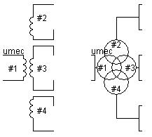 1-Phase 4-Winding UMEC Transformer
