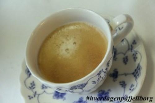 Helg og kaffe