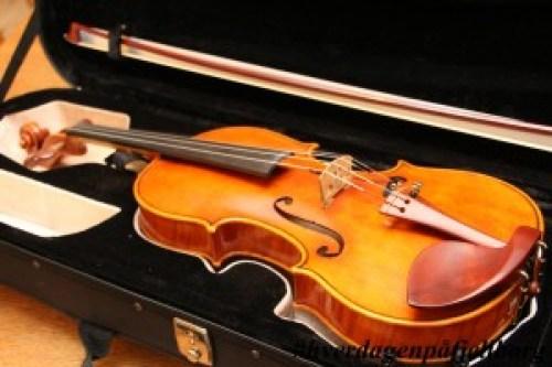 Jeg fikk ikke fiolin