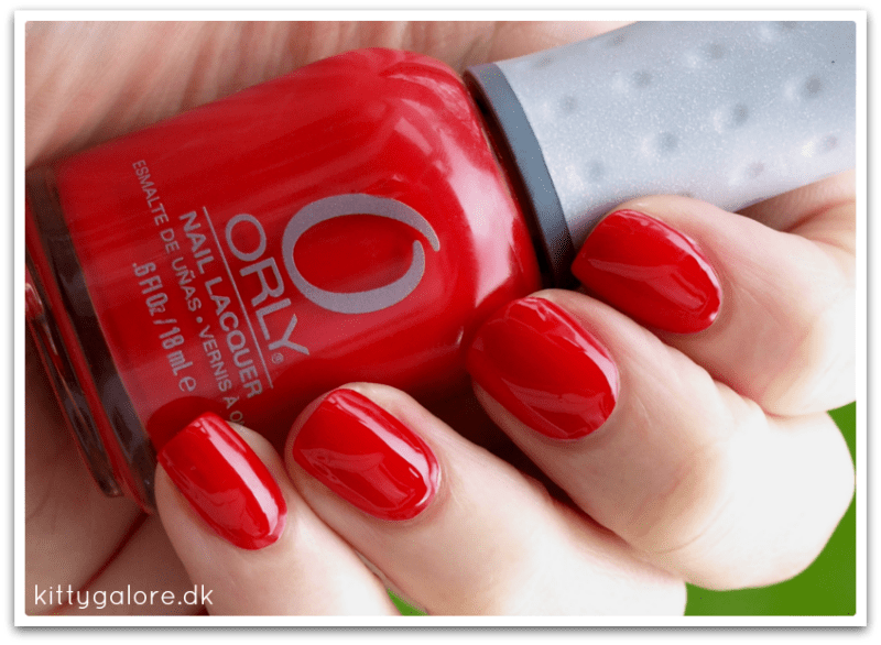 Orly Monroe's Red