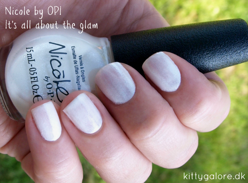 neglelak its all about the glam Nicole by opi
