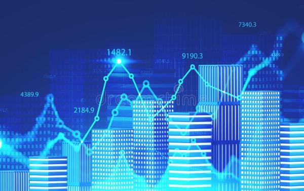 city-digital-financial-graphs-abstract-city-model-double-exposure-blurry-digital-financial-graphs-stock-market-178730916