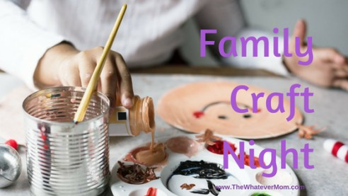 Beat The Winter Blues With A Family Craft Night
