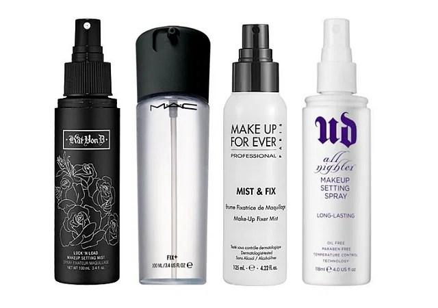 And Makeup Fixing Sprays
