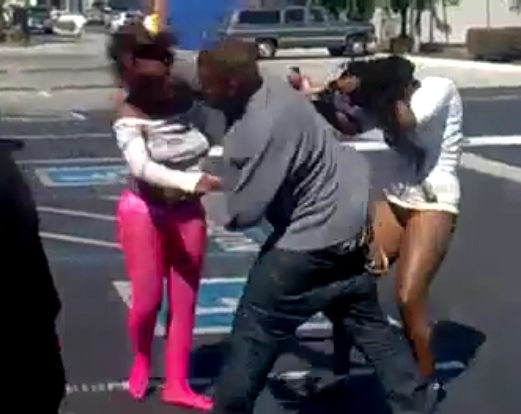 SMH Straight Madness Pregnant Girl Fights In A Burger King Parking Lot  Ends Up Getting Jumped