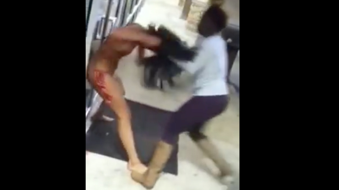 Damn Vegas Hookers Fight Over Territory  Video