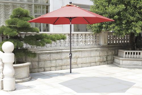 Backyard Creations Allenwood 9 Patio Market Umbrella at Menards