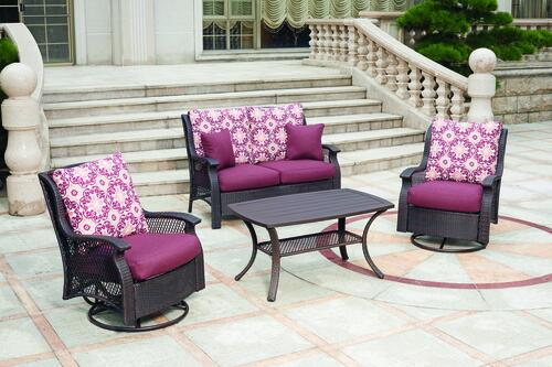 allenwood 4 piece seating patio set at