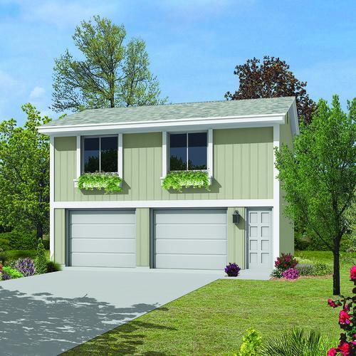 26 X 28 8 2 Car Garage Apartment Material List At Menards
