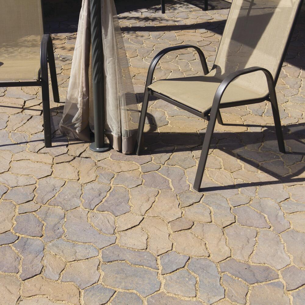 flagstone patio material list 10 w x