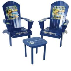 Margaritaville Chairs For Sale Swivel Chair Hardwood Floor Castaway Bay 3 Piece Adriondack Patio Set At Menards