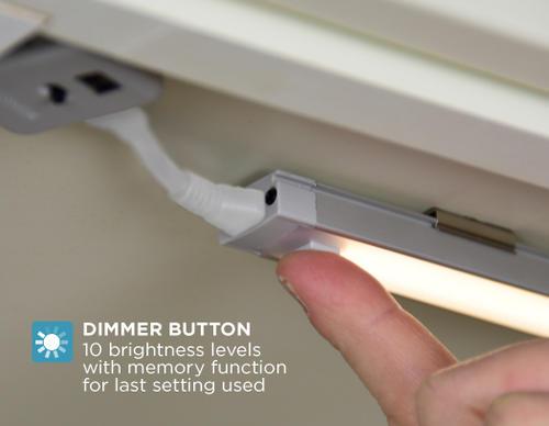 9 cool white led under cabinet strip