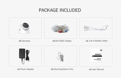 ANNKE® 4 Camera 5MP Wired Security Camera at Menards®