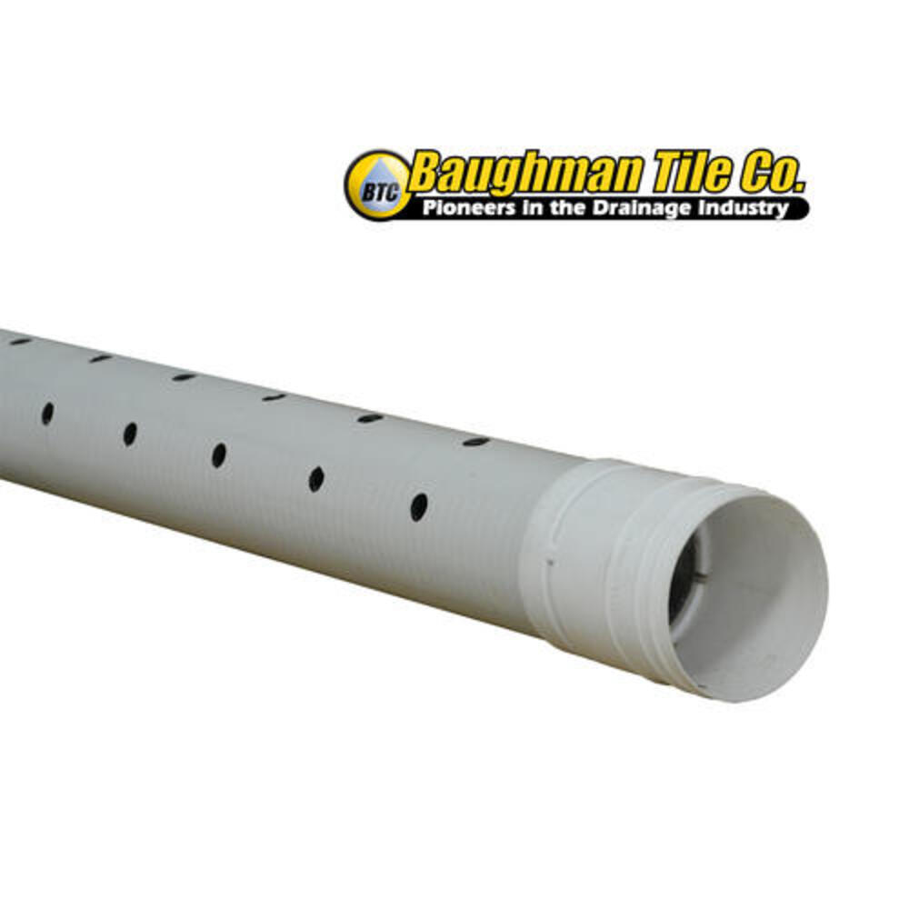 perforated sewer and drain pipe
