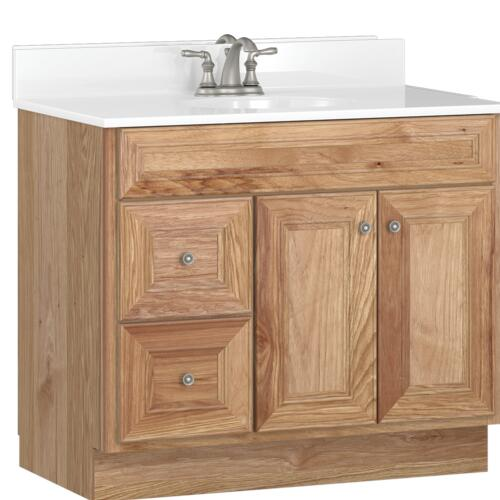 Briarwood Highpoint 36 W X 18 D Bathroom Vanity Cabinet At Menards