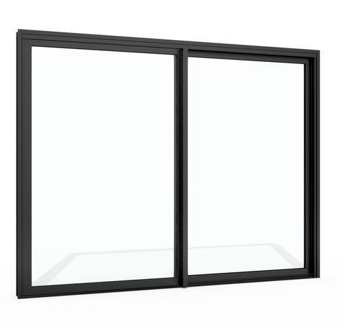 aluminum architectural grade patio door