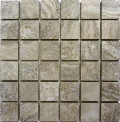 12 glazed porcelain mosaic tile