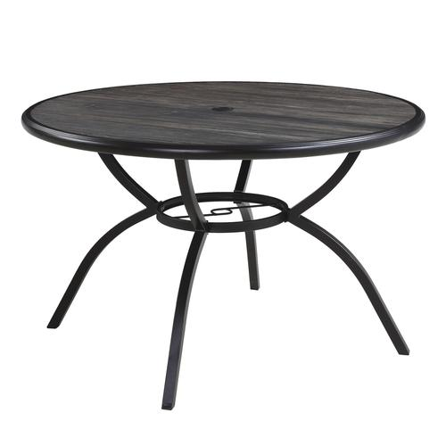 pine meadow round dining patio table at