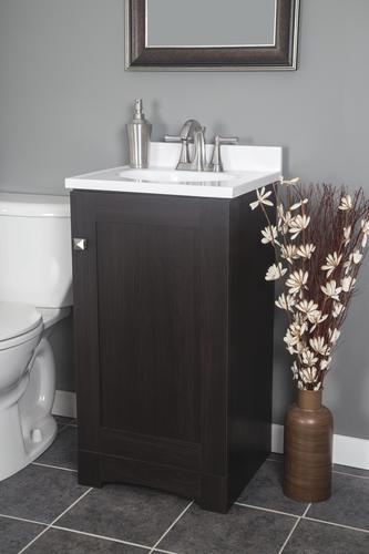 Dakota 18 W X 16 5 8 D Monroe Bathroom Vanity Cabinet At Menards