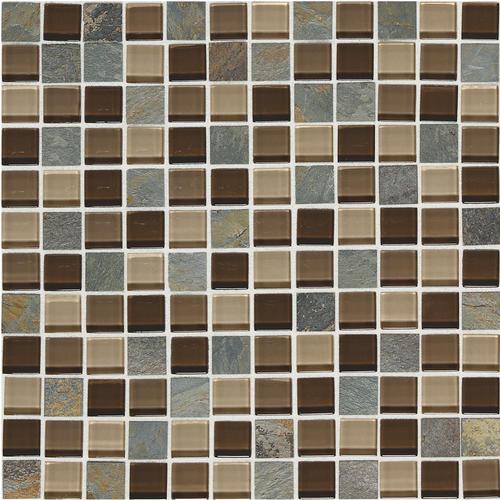 mohawk phase 12 x 12 glass mosaic tile